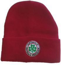 Plain Red Beanie Hat